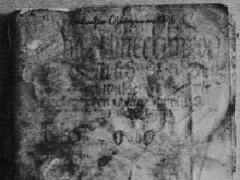 400 Jahre altes Gaugenwalder Fleckenbuch