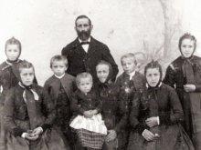 Die Gaugenwalder Familie Schöttle, um 1900