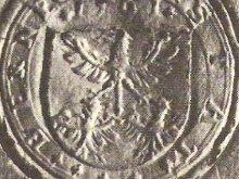 Siegel der von Gültlingen um 1561